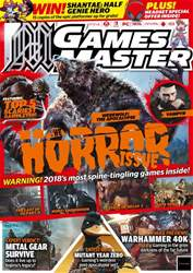 GamesMaster issue April 2018