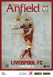 Liverpool FC Programmes issue vs Watford 17/18