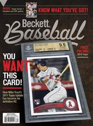 Beckett Baseball issue April 2018