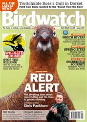 Birdwatch Magazine issue April 2018