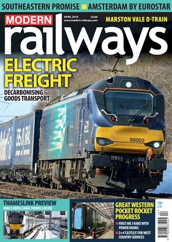 Modern Railways issue   April 2018
