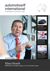AutomotiveIT Magazine Cover