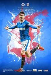 Rangers Football Club Matchday Programme issue Rangers v Kilmarnock 170318