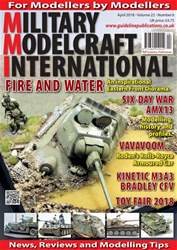 Military Modelcraft International issue April 2018