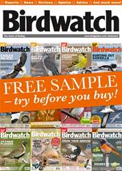 FREE SAMPLE ISSUE OF BIRDWATCH issue FREE SAMPLE ISSUE OF BIRDWATCH