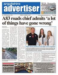 Argyllshire Advertiser issue 16 March 2018