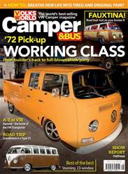 VW Camper issue May 2018