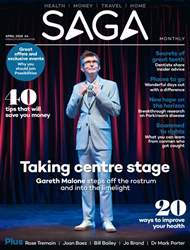 Saga Magazine issue April 2018