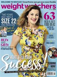 Weight Watchers magazine UK issue May 2018