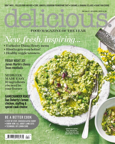 Delicious Magazine issue April 2018