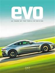 Evo Magazine Cover
