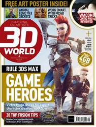 3D World issue May 2018