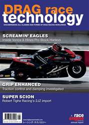 DRAG Race Technology Magazine Cover