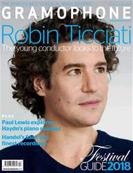Gramophone issue April 2018