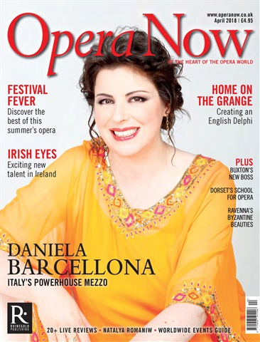 Opera Now issue April 2018