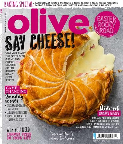 Olive Magazine issue Easter 2018