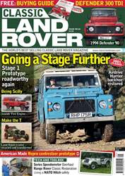 Classic Land Rover Magazine issue  May 2018