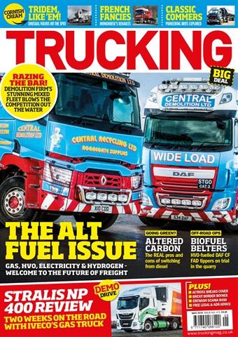 Trucking Magazine issue May 2018