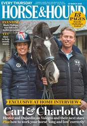 Horse & Hound issue 22nd March 2018