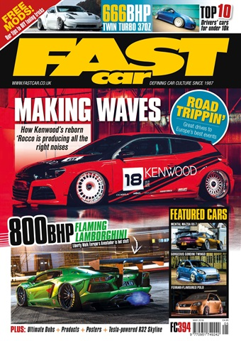 Fast Car issue May 2018