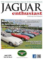 Jaguar Enthusiast issue April 2018