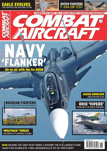 Combat Aircraft issue  May 2018