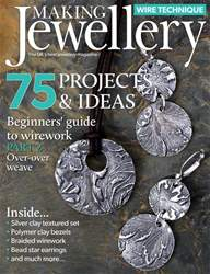 Making Jewellery Magazine Cover
