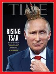 Time Magazine issue 2nd April 2018
