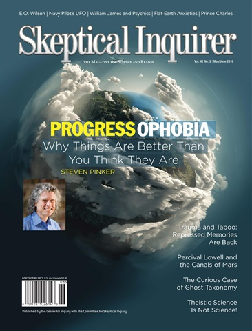 Skeptical Inquirer issue May June 2018