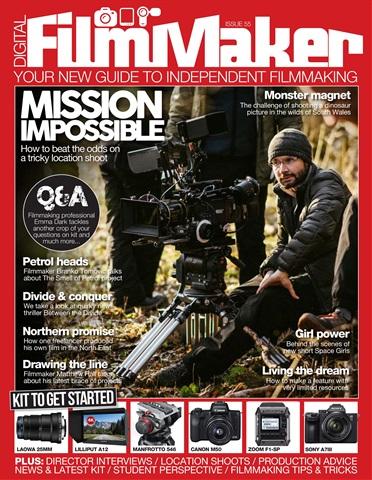 Digital FilmMaker issue DFM issue 55