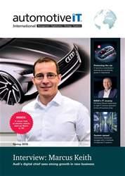 AutomotiveIT Magazine Cover