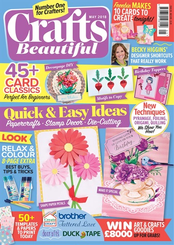 Crafts Beautiful issue May-18