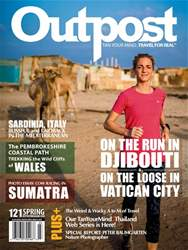 Outpost - Adventure Travel Magazine issue Spring 2018