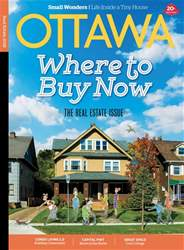 Ottawa Magazine issue Real Estate Spring 2018