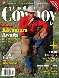 Canadian Cowboy Country issue Apr/May 2018