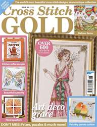 Cross Stitch Gold issue April 2018