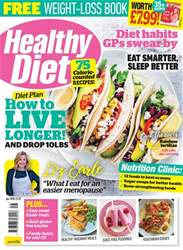 Healthy Diet Magazine Cover