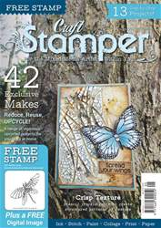Craft Stamper Magazine Cover