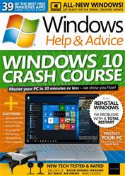 Windows Help & Advice issue April 2018