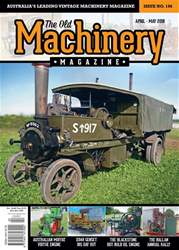 The Old Machinery Magazine issue April - May 2018