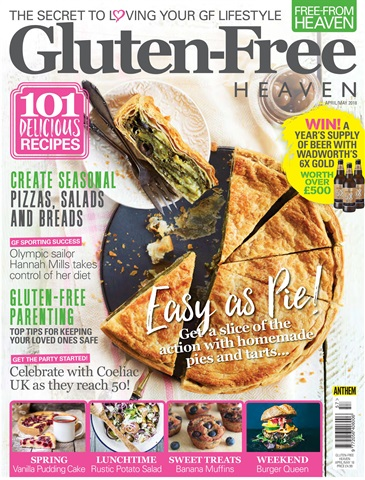 Free-From Heaven issue Gluten-Free Heaven April/May 2018