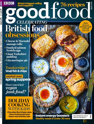 BBC Good Food issue April 2018