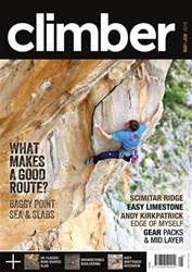 Climber issue May/Jun18