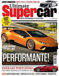 Ultimate Supercar Magazine Cover