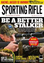 Sporting Rifle issue May 2018