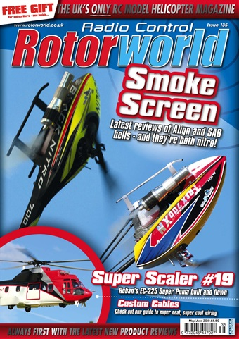 Radio Control Rotor World issue 135 May 2018