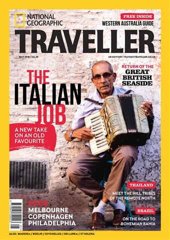 National Geographic Traveller (UK) issue May 2018