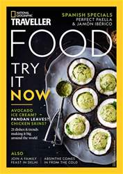 National Geographic Traveller (UK) issue Food #1 2018