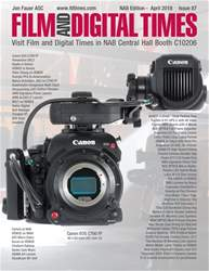 Film and Digital Times issue April 2018