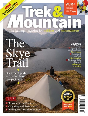 Trek & Mountain Magazine issue Mar-Apr 18